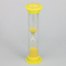 PS002-3M Песочные часы на 3 минуты, пластик, стекло