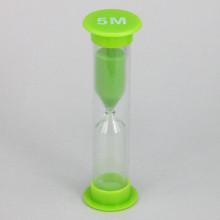 PS002-5M Песочные часы на 5 минут, пластик, стекло
