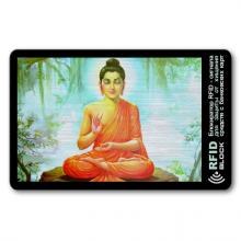 RF058 Защитная RFID-карта Будда, металл