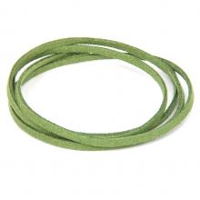 SHZ1037 Замшевый шнурок для амулета, цвет зелёный