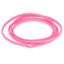 SHZ1042 Замшевый шнурок для амулета, цвет розовый