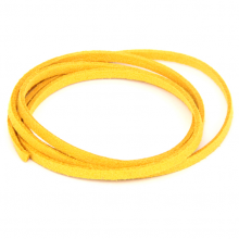 SHZ1061 Замшевый шнурок для амулета, цвет жёлтый