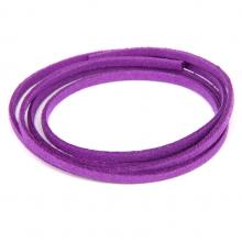 SHZ1068 Замшевый шнурок для амулета, цвет фиолетовый