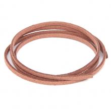 SHZ1110 Замшевый шнурок для амулета, цвет светло-коричневый