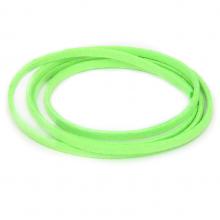 SHZ1140 Замшевый шнурок для амулета, цвет ярко-салатовый