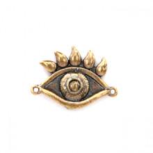SP-K-14 Кошельковый сувенир Глаз в кошелёк от сглаза, латунь