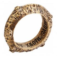 SP-K-40 Кошельковый сувенир Кольцо счастья, латунь