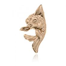 SR-K-30006 Кошельковый сувенир Рыбка, цвет золотой