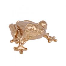 SR-K-30091 Кошельковый сувенир Лягушка, цвет золотой
