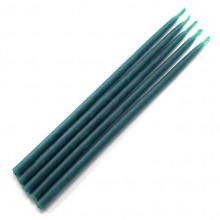 SVM1-V Свеча магическая 15х0,5см, время горения более 25мин., 100% воск, цвет синий