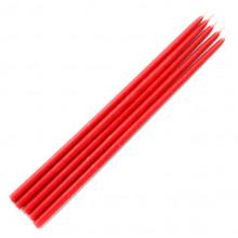 SVM3-R Свеча магическая 22х0,7см, время горения более 60мин., 100% воск, цвет красный