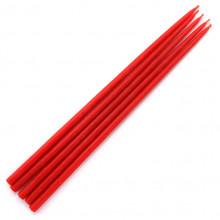SVM4-R Свеча магическая 26х0,8см, время горения более 1ч.40мин., 100% воск, цвет красный