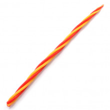 SVM7-02 Скрутка из 4-х свечей Страсть, 100% воск, 21см, 2 красн., 2 жёлт.