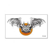 TTRC-428 Набор временных татуировок Летучая мышь, 10,5х6см