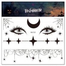 TTRM-001 Набор временных татуировок Хэллоуин, 15х5х16см