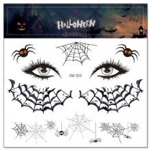 TTRM-002 Набор временных татуировок Хэллоуин, 15х5х16см