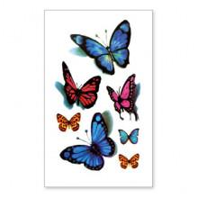 TTSY-A123 Временная татуировка Бабочка, 60х105мм