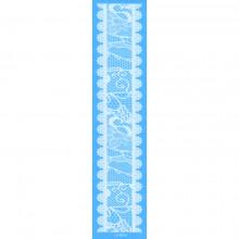 TTW009-01 Временная татуировка Кружевная повязка, 24х6см