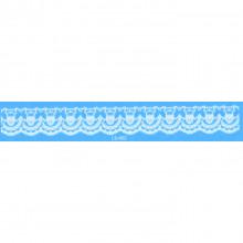 TTW009-04 Временная татуировка Кружевная повязка, 21х3,5см