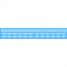 TTW009-05 Временная татуировка Кружевная повязка, 21х3,5см
