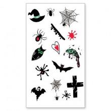 TTWM-338 Временная татуировка Хеллоуин, 60х105мм