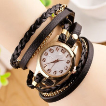 WA042-BK Часы - браслет, цвет чёрный