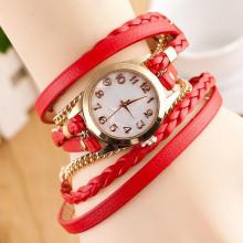 WA042-R Часы - браслет, цвет красный