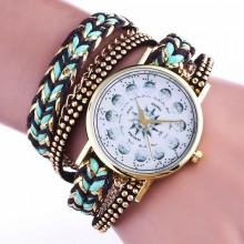 WA068-2 Часы - браслет Компас, цвет бирюзовый