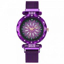 WA070-3 Часы наручные Мандала, цвет фиолетовый