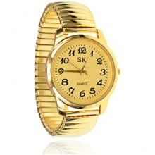 WA096-1 Наручные часы, d.3,5см, цвет золотой