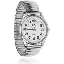 WA096-2 Наручные часы, d.3,5см, цвет серебряный