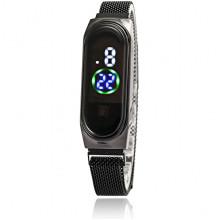 WA099-1 Наручные сенсорные часы, цвет чёрный
