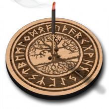 XP010 Подставка для благовоний Дерево жизни, бук